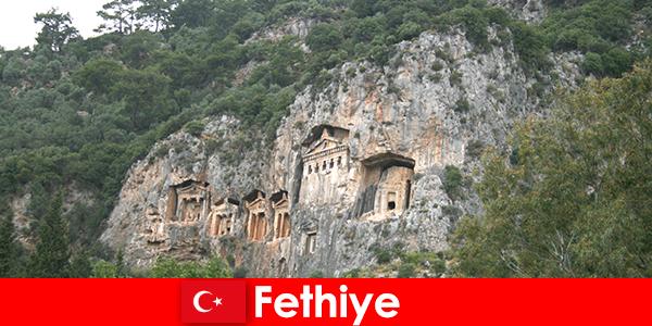 Kota Fethiye di Barat daya Turki