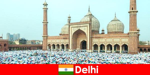Delhi merupakan sebuah Metropolis di India Utara yang dicirikan oleh bangunan Muslim yang terkenal di dunia