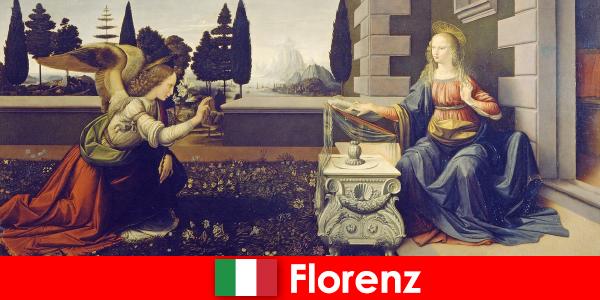Wisatawan mengetahui pentingnya budaya Florence untuk seni visual