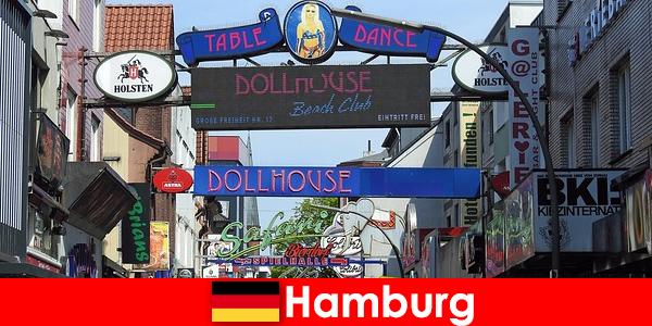 Hamburg Reeperbahn-kehidupan malam bordil dan layanan escort untuk wisata seks