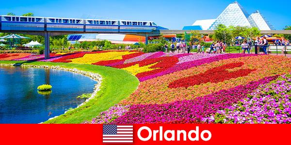 Orlando ibu kota turis Amerika Serikat dengan banyak taman hiburan