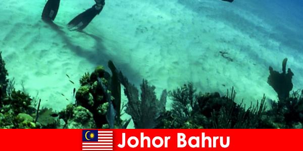 Kegiatan petualangan di Johor Bahru Diving, mendaki, hiking dan banyak lagi