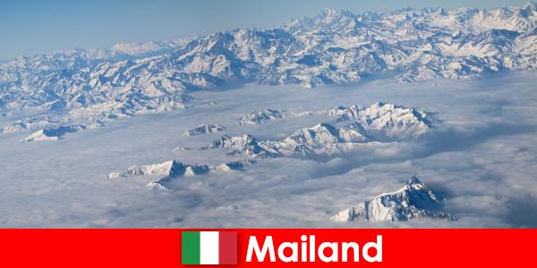 Milan salah satu resor ski terbaik bagi wisatawan di Italia