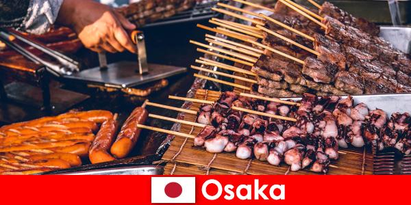 Osaka adalah masakan Jepang dan titik kontak bagi siapa saja yang mencari petualangan liburan