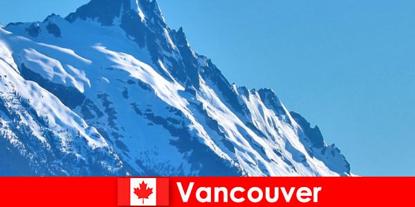 Kota Vancouver di Kanada adalah tujuan utama wisata mendaki gunung