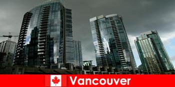 Vancouver di Kanada selalu menjadi tujuan untuk bangunan yang mengesankan bagi orang asing
