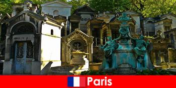 Perjalanan Eropa untuk pecinta pemakaman dengan situs pemakaman yang luar biasa di Prancis Paris