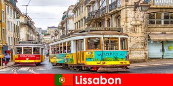 Jalan-jalan bersejarah di Lisbon Portugal dengan sentuhan nostalgia untuk pelancong budaya
