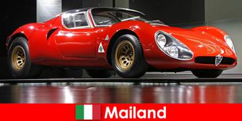 Milan Italia selalu menjadi tujuan populer bagi pecinta mobil dari seluruh dunia