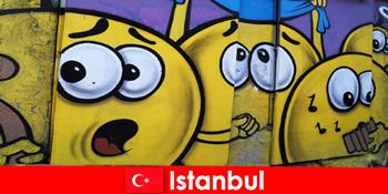Klub adegan Turki Istanbul untuk hipster dan seniman dari seluruh dunia sebagai perjalanan akhir pekan