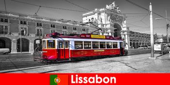 Lisbon di Portugal wisatawan mengenal Anda sebagai kota putih di Samudra Atlantik