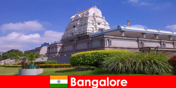 Kompleks kuil Bangalore yang misterius dan megah