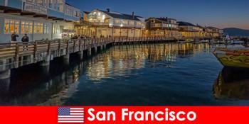 San Francisco di Amerika Serikat, distrik tepi laut adalah favorit rahasia wisatawan