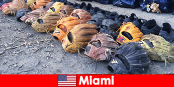 Liburan impian bagi pelancong ke taman olahraga Miami Amerika Serikat