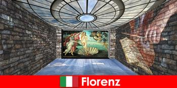 Perjalanan kota ke Florence Italia untuk penggemar seni master lama