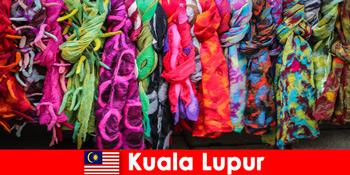 Wisatawan budaya di Kuala Lumpur Malaysia mengalami keahlian yang sangat baik