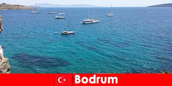 Liburan mewah untuk orang asing di teluk yang indah di Bodrum Turki
