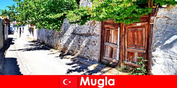 Desa-desa yang indah dan penduduk setempat yang ramah menyambut wisatawan ke Mugla Turki